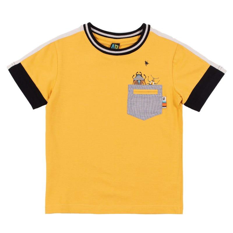 T-Shirt Poche Insectes 7-12ans