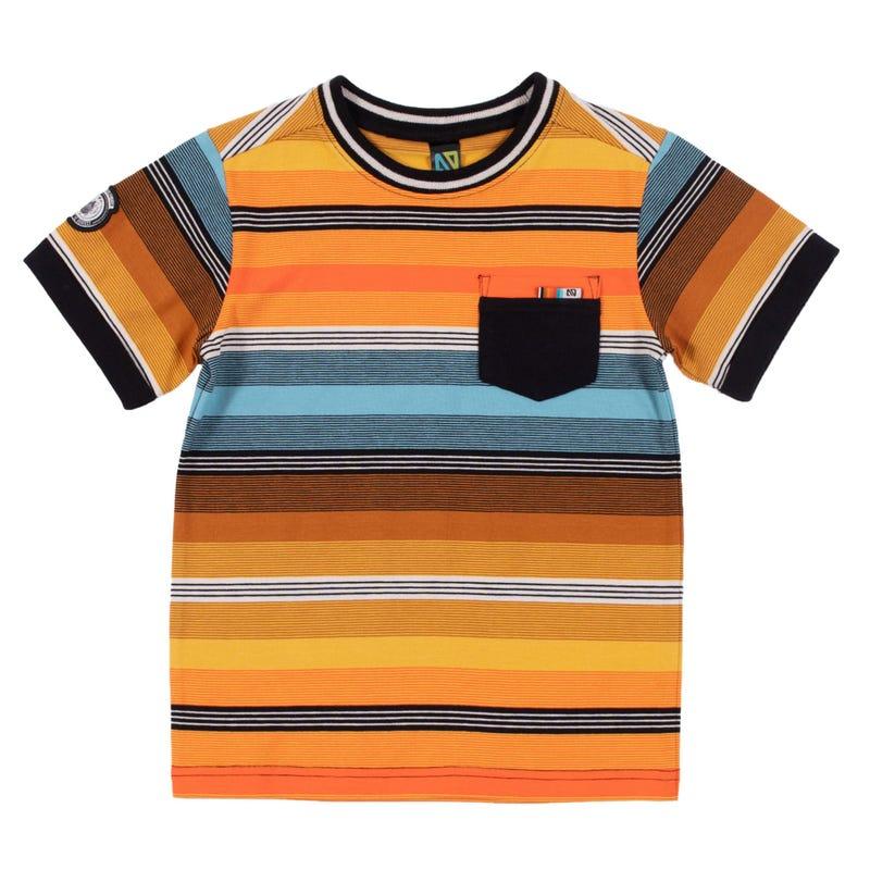 T-Shirt Rayé Insectes 2-6ans