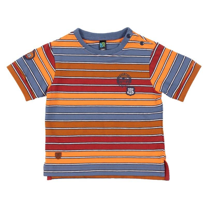 T-Shirt Henley Sur le Pouce3-24mois