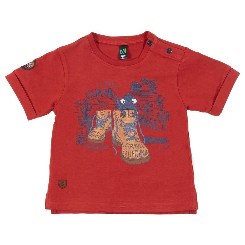 T-Shirt Sur le Pouce 3-24mois