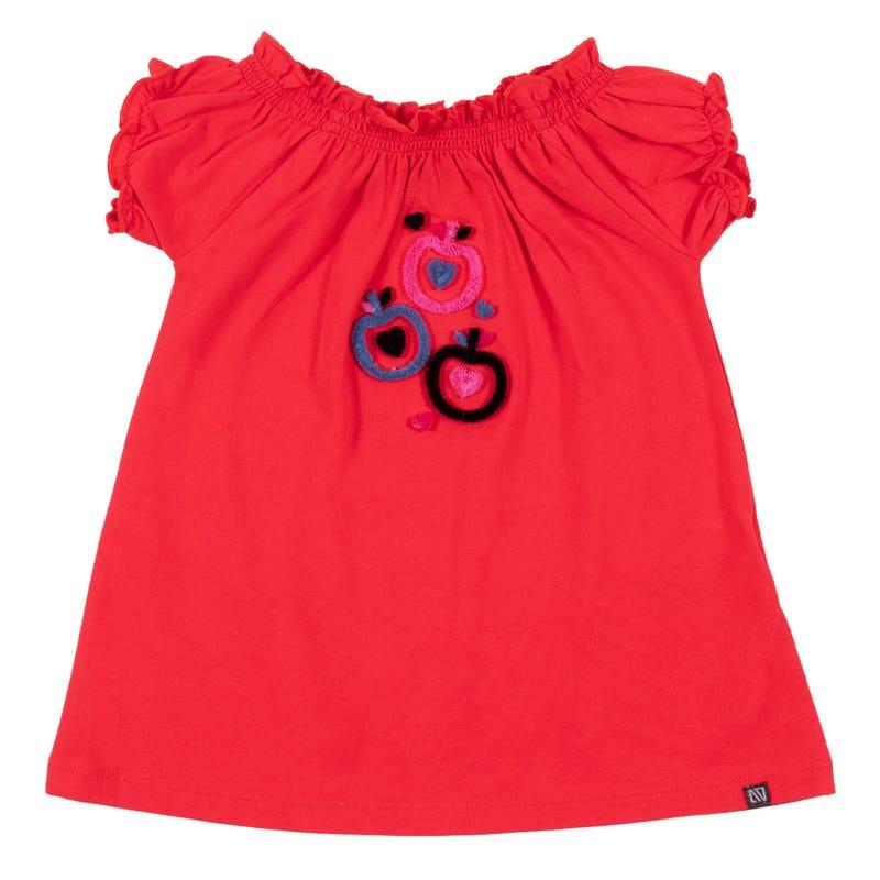 T-Shirt Petite Pomme 3-24mois