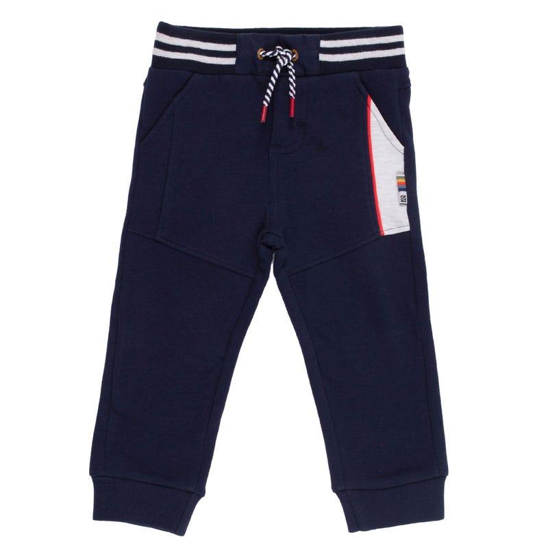 Pantalon Ouaté Poisson 3-24mois