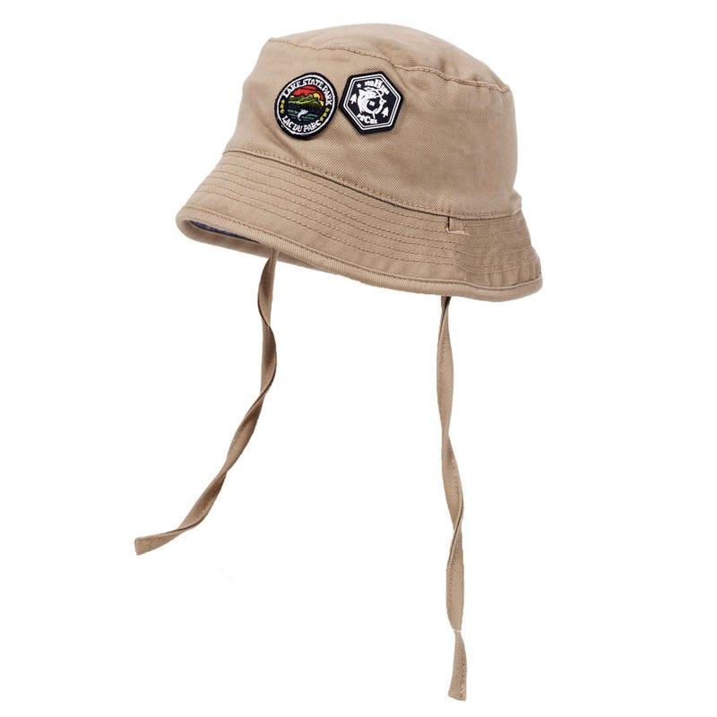Fish Reversible Hat 9-12m