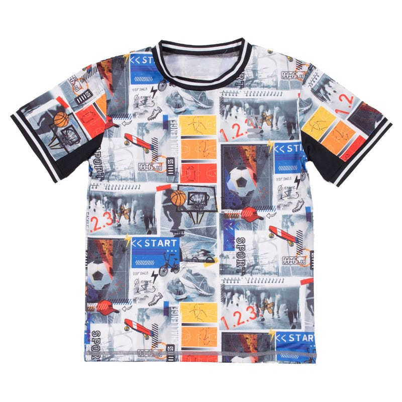 Aim High Printed T-Shirt 7-12y