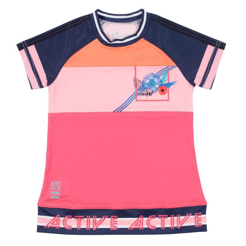 T-Shirt Bloc Sport & Chic 4-6ans