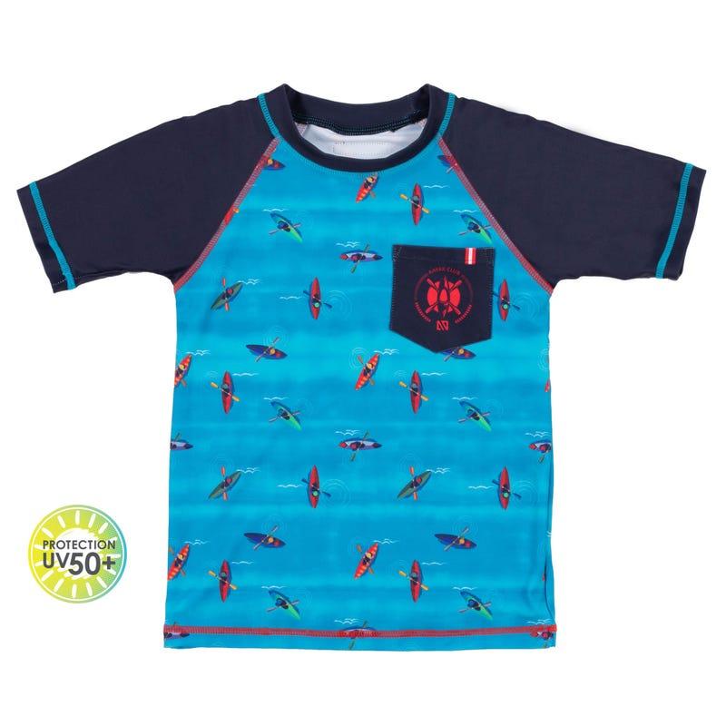 T-Shirt Maillot Canot 7-10ans