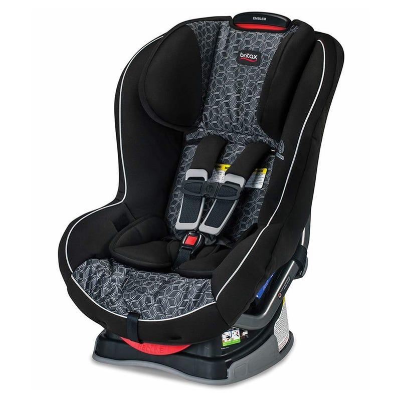 Emblem 5-65lb Car Seat - Fushion Black