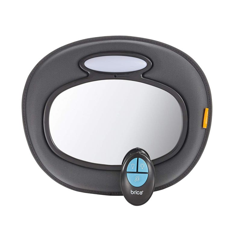 Night Light Musical Baby In-Sight Car Mirror
