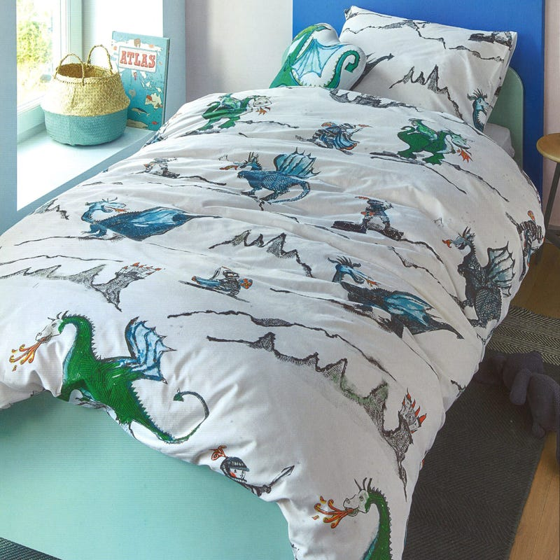 DragonTwin Duvet Cover