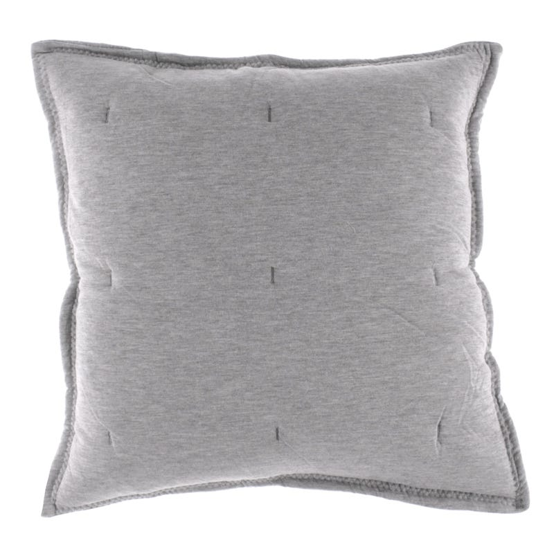 Jersey Cushion - Gray