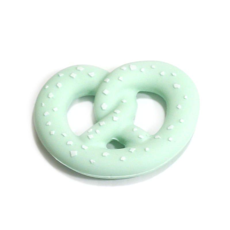 Pretzel Teether - Mint