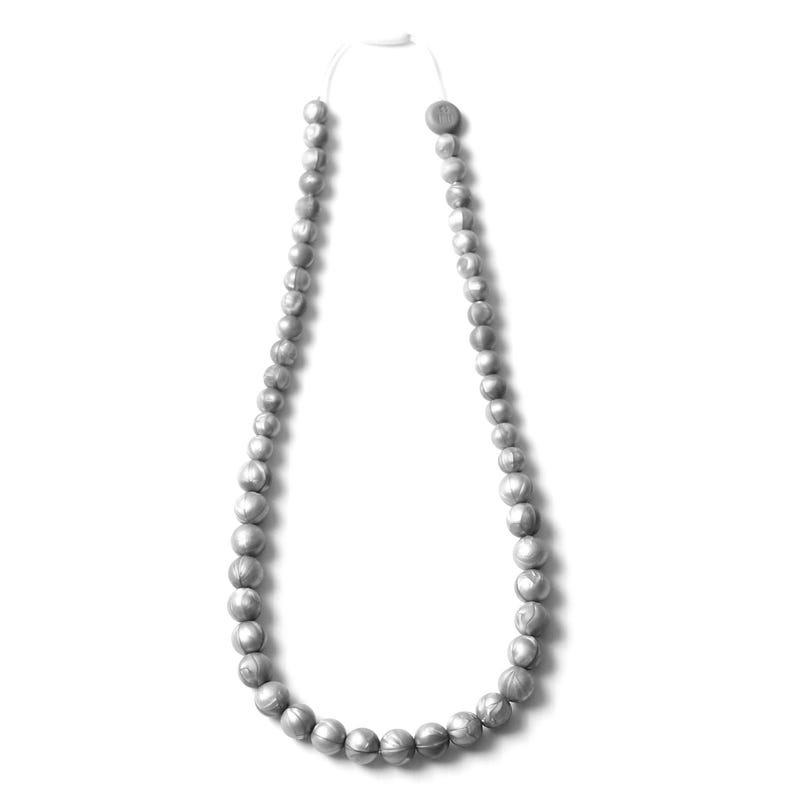 Maxi Mommy Necklace - Silver