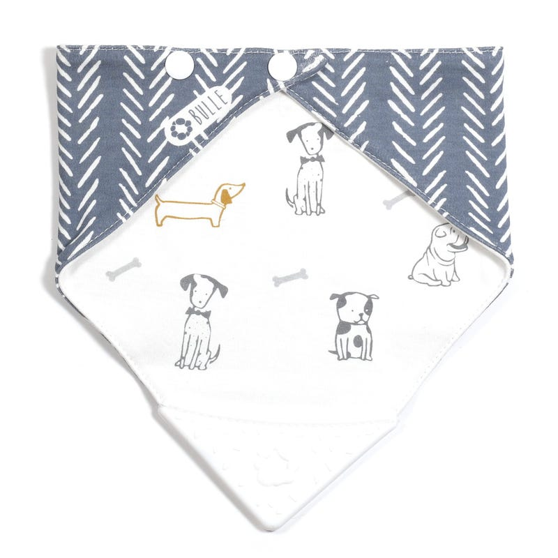 Teething Bib - Dog