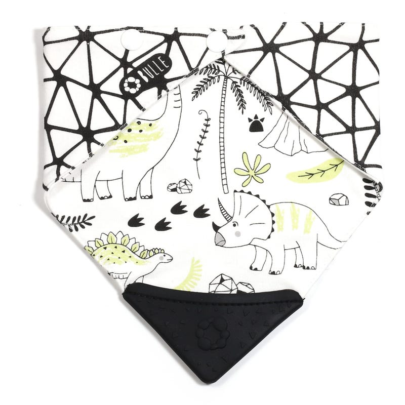 Teething Bib - Dino