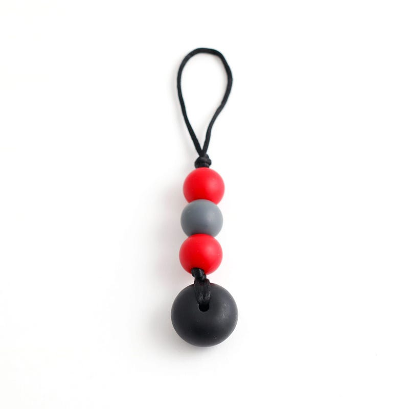 Zip-Bulle To Chew - Red/Charcoal