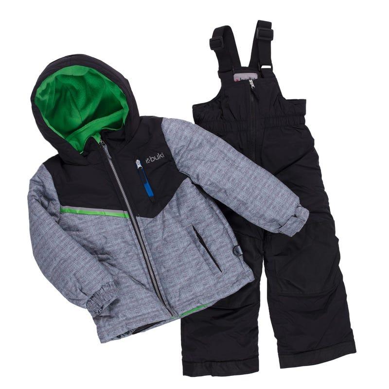 Color Block Snowsuit 2-8