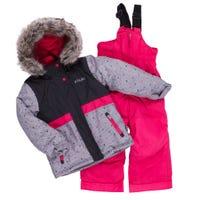 Dots Block Snowsuit 2-8