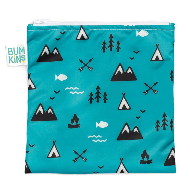 Large Reusable Snack Bag - Outdoors