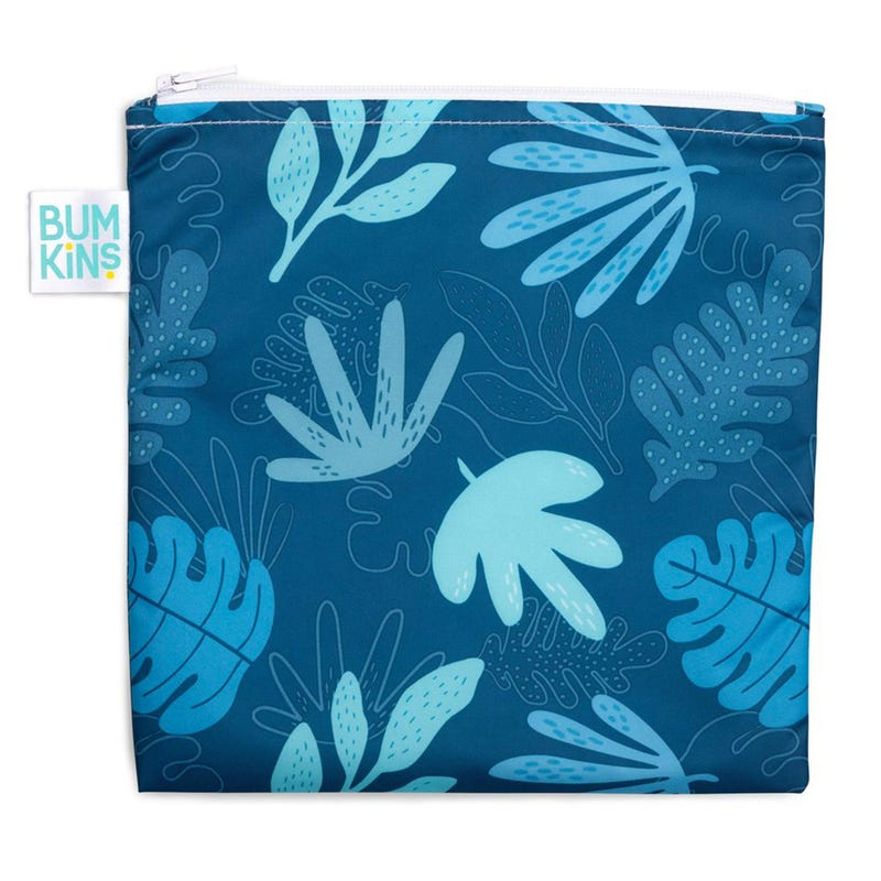 Reusable Snack Bag Large - Leafs