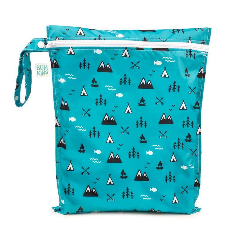 Zippered Wet Bag - Outdoors