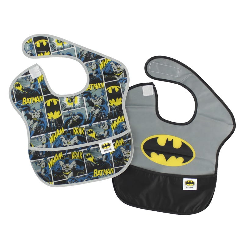 SuperBib 2 Pack 6-24month - Batman