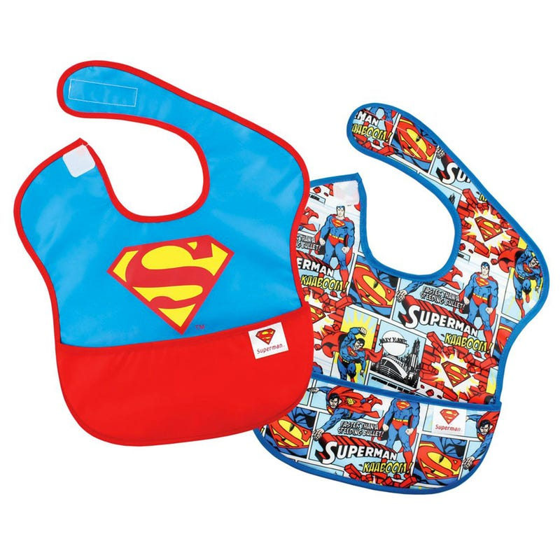 SuperBib 2 Pack 6-24month - Superman