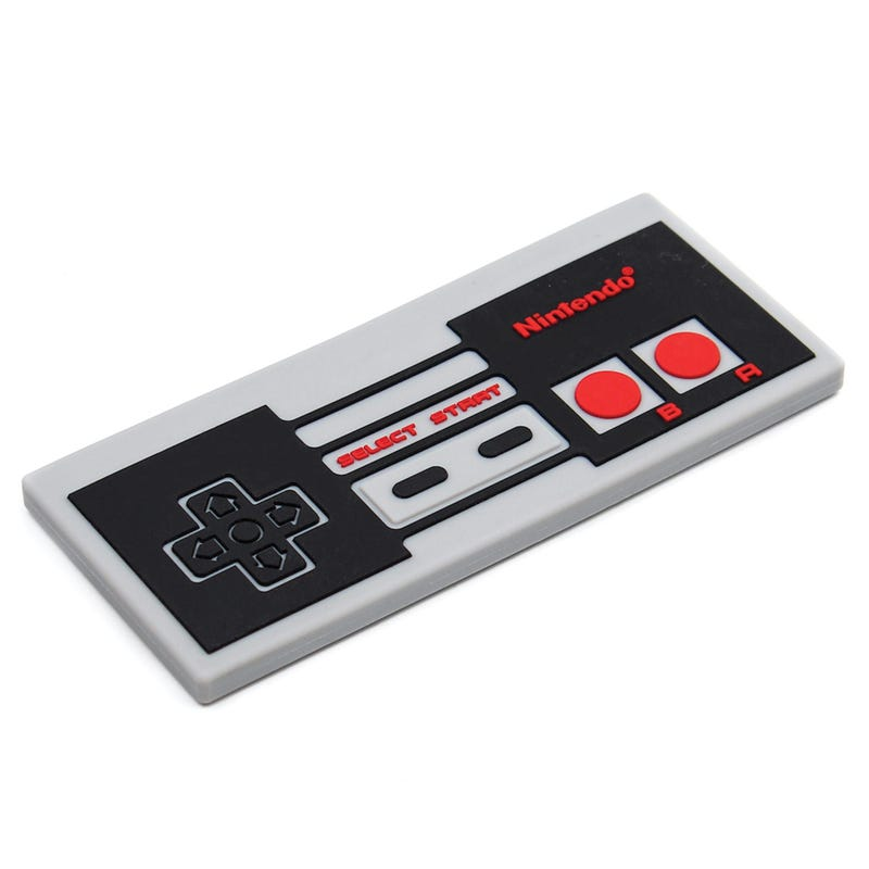 Silicone Teether - Nes Controller