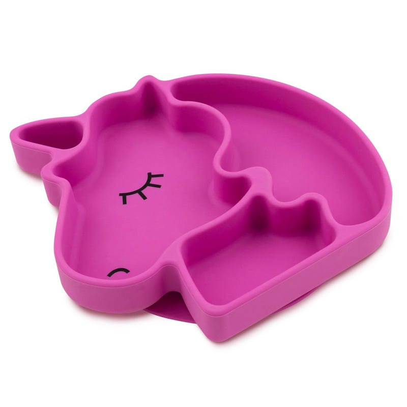 Suction Silicone Grip Dish - Unicorn