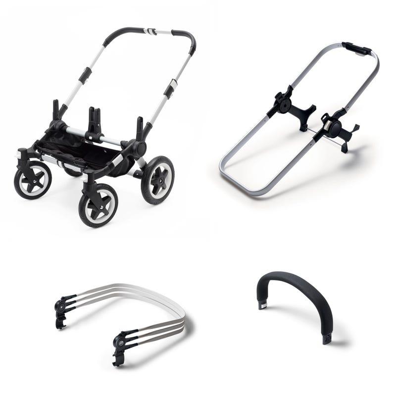 Donkey 2 Base Stroller - Aluminium