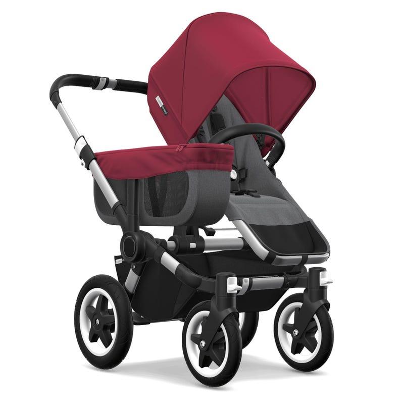 Stroller Donkey Mono - Red/Gray