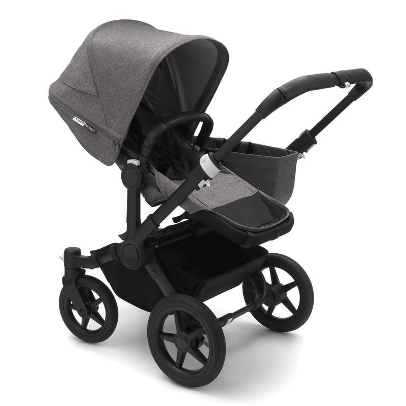 Donkey3 Mono Stroller - Black / Grey / Grey Melange