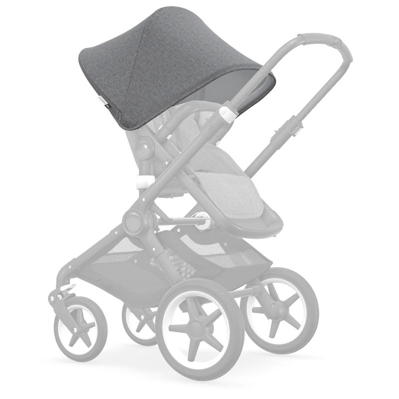 Sun Canopy UV Fox/Cameleon - Gray