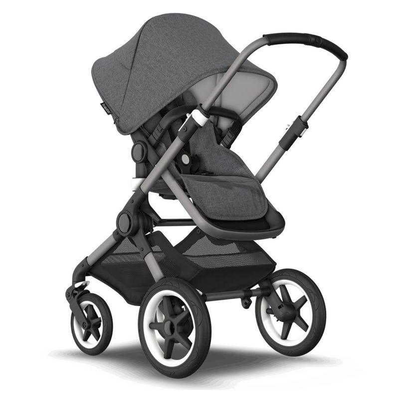 Fox3 Stroller - Graphite / Grey Melange