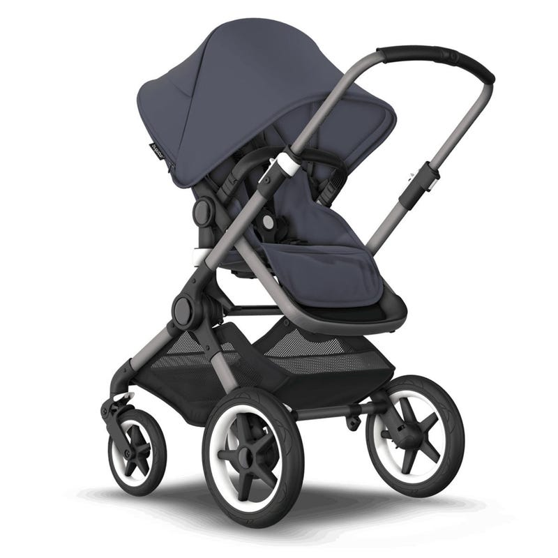 Fox3 Stroller - Graphite / Stormy Blue (Pre-order Delivery End of October)