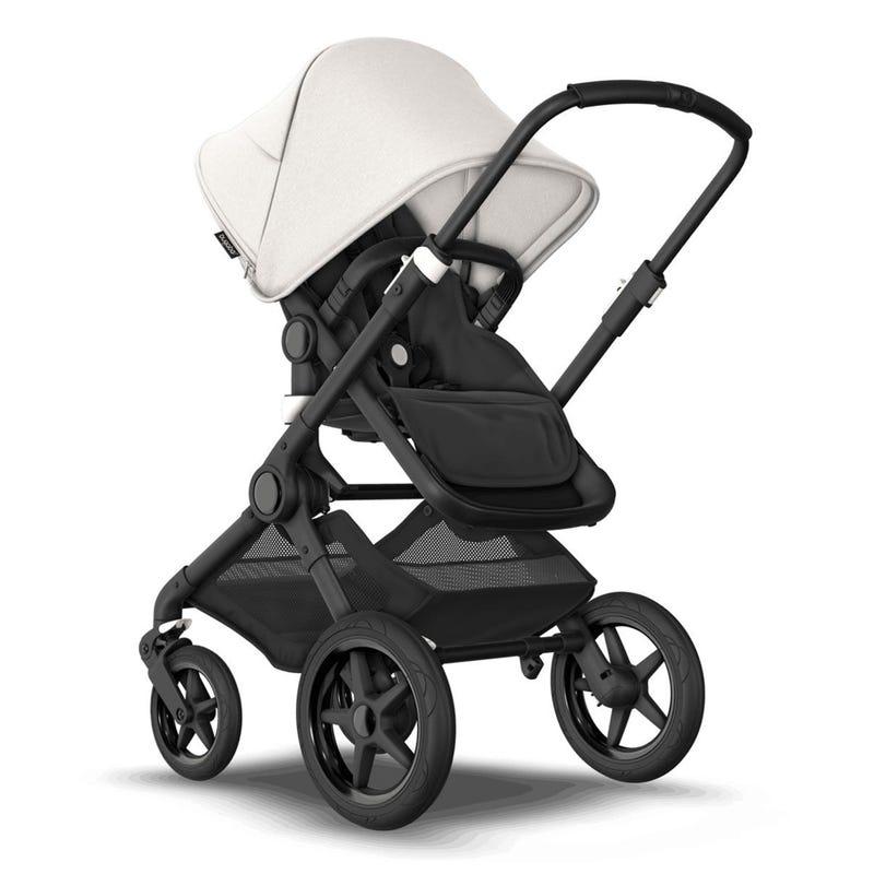 Fox3 Stroller - Black / Black / Misty White (Pre-order Delivery End of October)