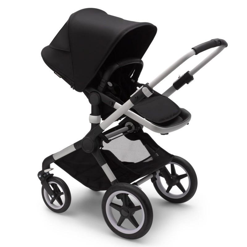 Fox3 Stroller - Aluminium / Black / Black