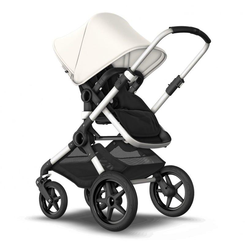 Stroller Fox2 - Alu / Black / Fresh White