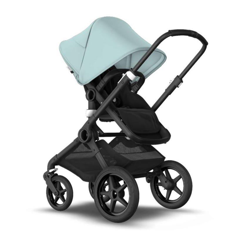 Stroller Fox2 - Black / Black / Vapor Blue