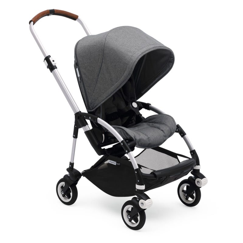 Poussette Bugaboo Bee - Alu/Gris