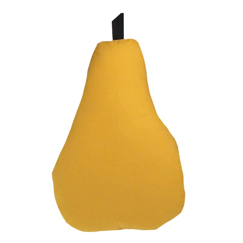 Coussin Poire - Moutarde