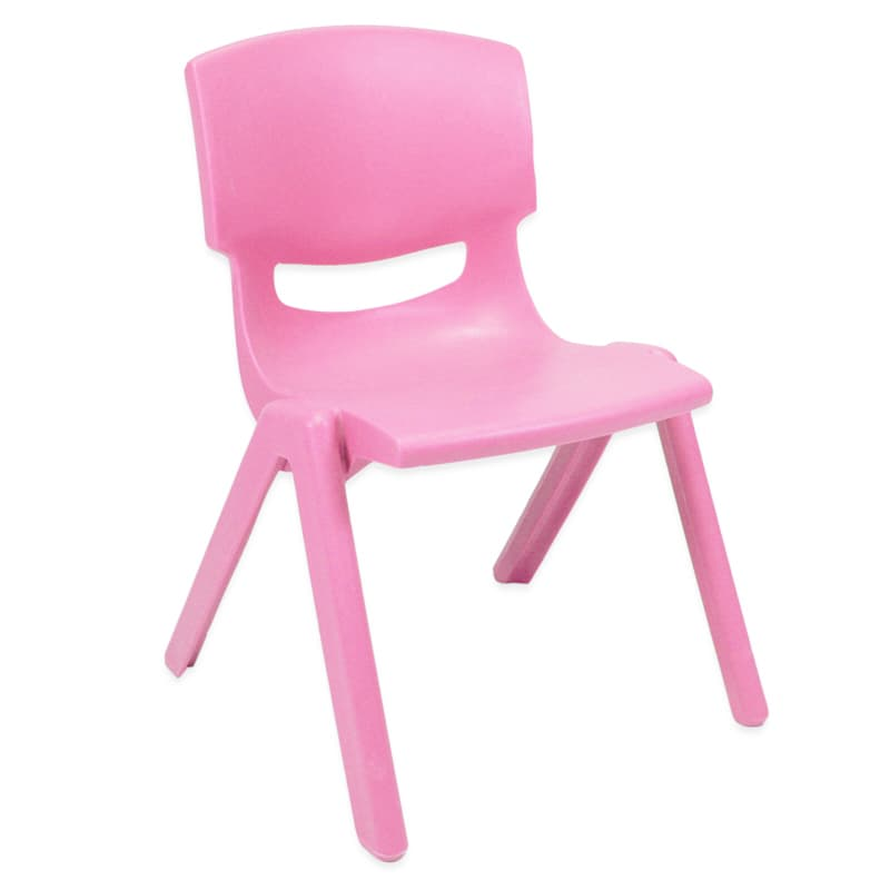 Plastic Chair - Pink