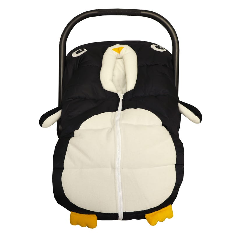 Winter Car Seat Cover Penguin