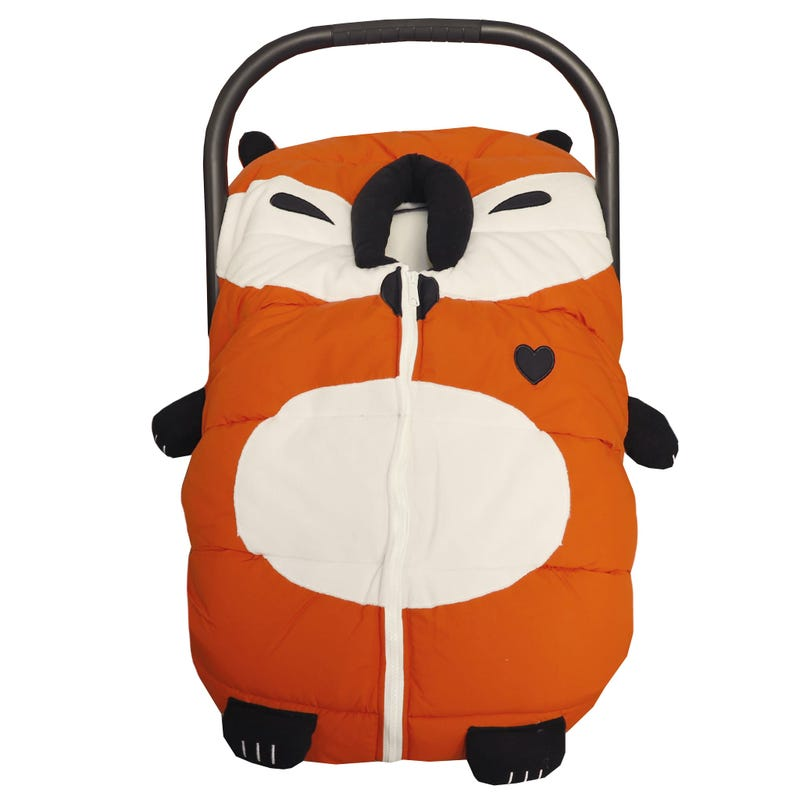 Winter Car Seat Cover Racoon B