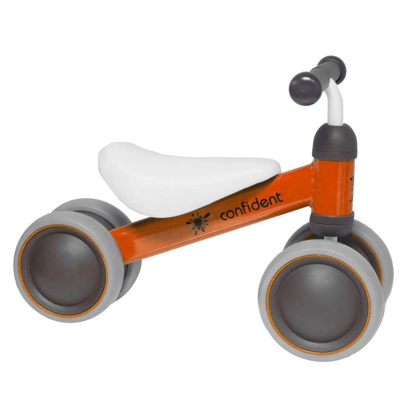 Bicyclette 4 Roues Orange 18m+