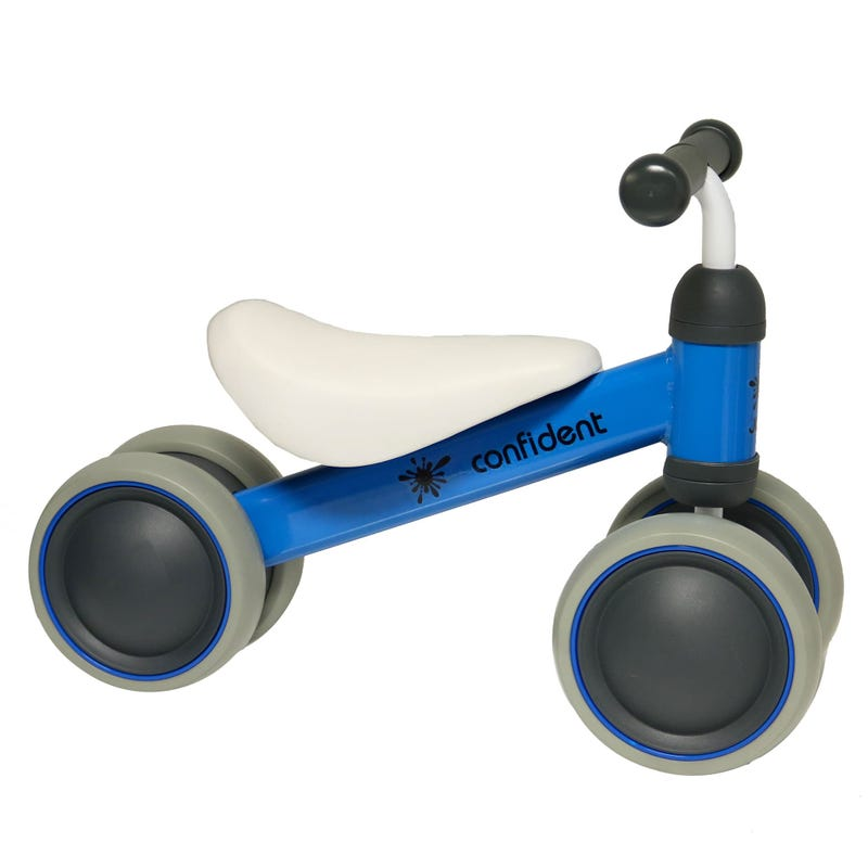 4 Wheels Blue Bicycle 18-36m