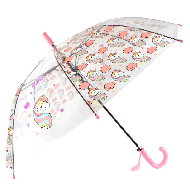 Clear Umbrella Unicorn