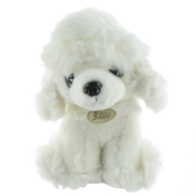PoodlePlush - White