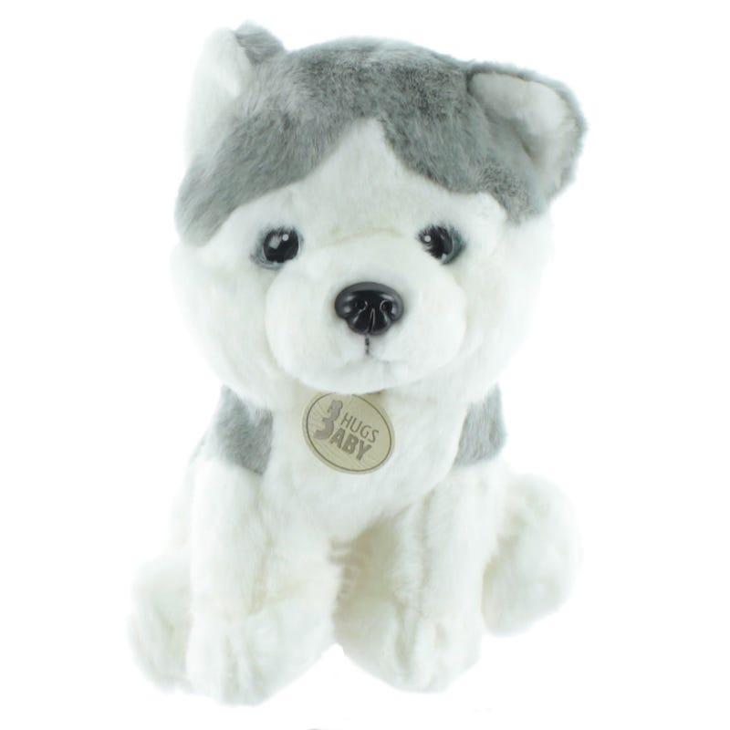 Dog Plush - Gray