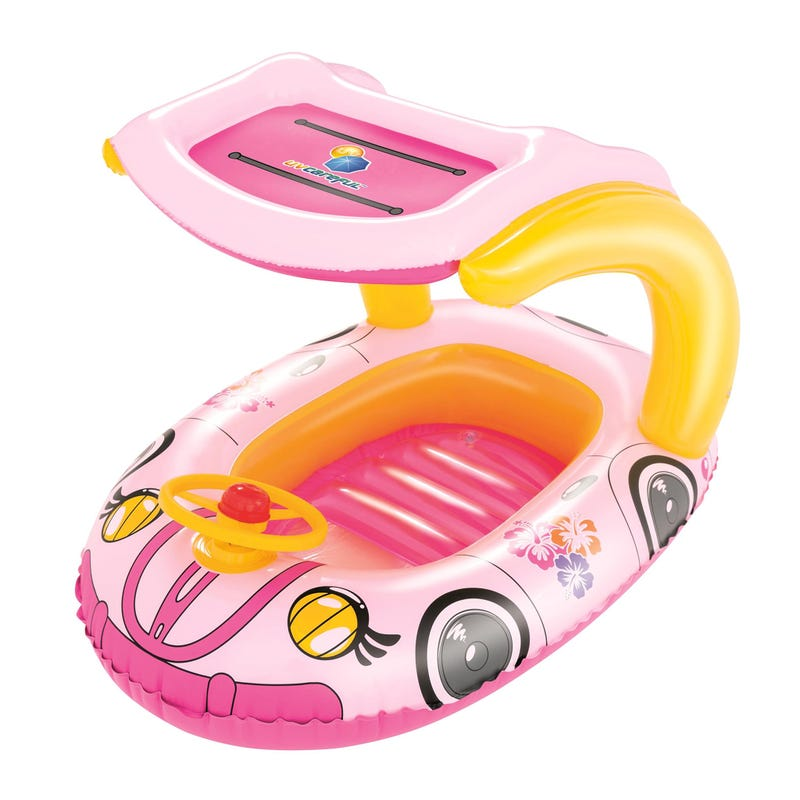 Inflatable Pink Car For Pool