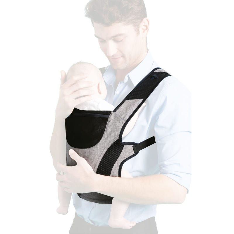 Ergonomic Baby carrier - Grey